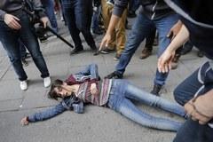 Antyrządowy protest w Stambule