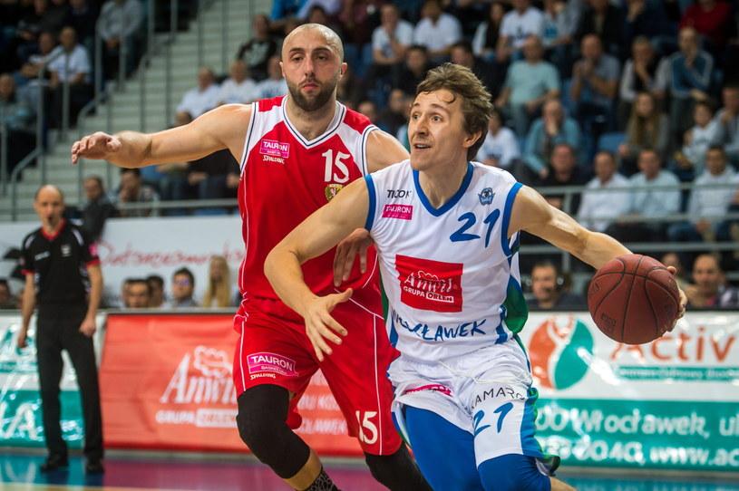 Anwil wygrał ze Śląskiem 82:74 /Fot. Tytus Żmijewski /PAP