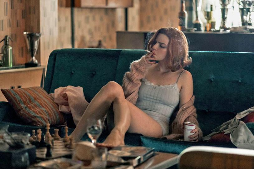 """Anya Taylor-Joy w serialu """"Gambit królowej"""" /materiały prasowe"""
