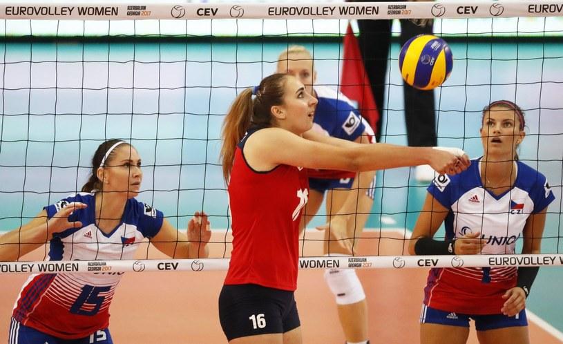 Anżelika Barysewicz z reprezentacji Białorusii (na pierwszym planie) /PAP/EPA