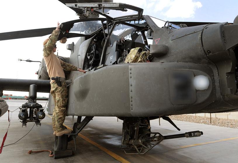 Apache to jeden z najlepszych śmigłowców bojowych na świecie /Getty Images/Flash Press Media