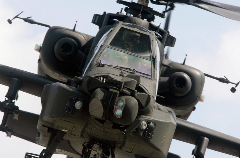 Apache udzieliły wsparcia zagrożonym oddziałom /Getty Images/Flash Press Media