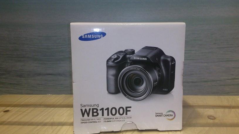 Aparat fotograficzny Samsung WB 1100F /INTERIA.PL/materiały prasowe