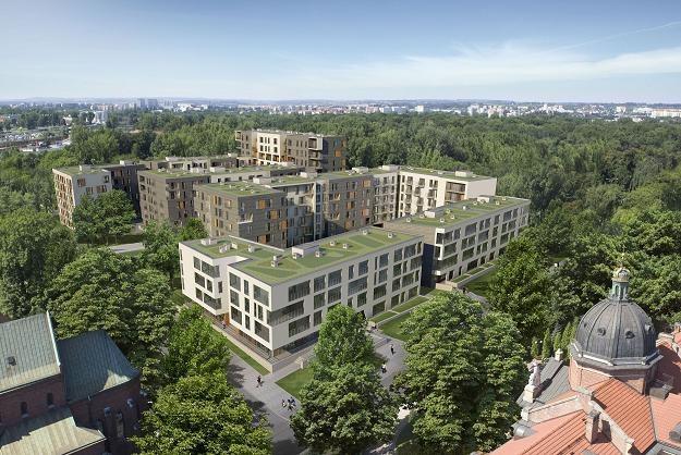 Apartamenty Novum, ul.Rakowicka w Krakowie (wizualizacja) /