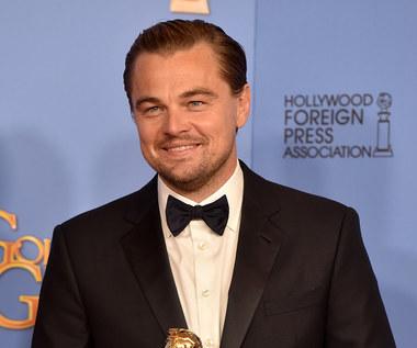 Apel DiCaprio podczas Złotych Globów