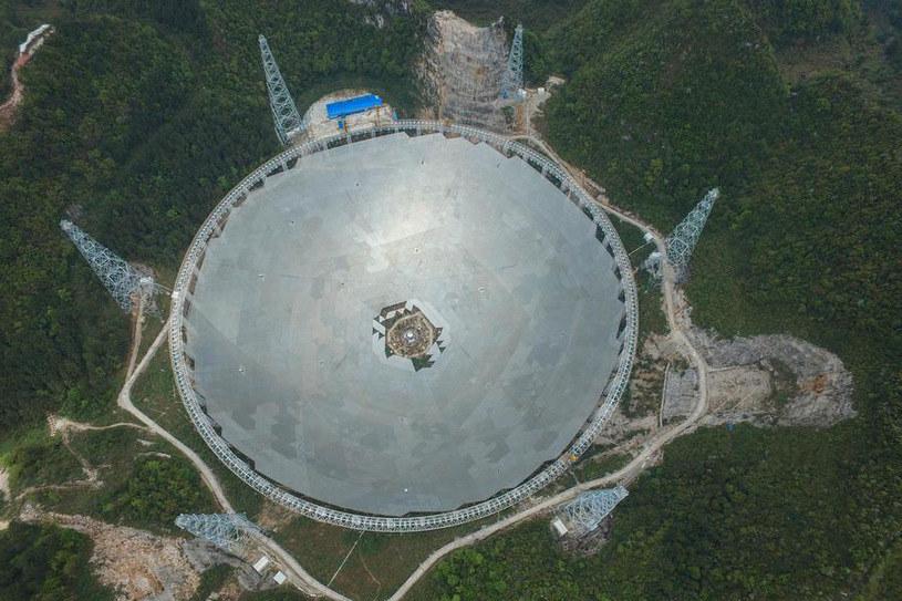 Aperture Spherical Radio Telescope. Czy znajdzie sygnały życia? /materiały prasowe