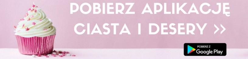 Aplikacja Ciasta i desery /interia /INTERIA.PL