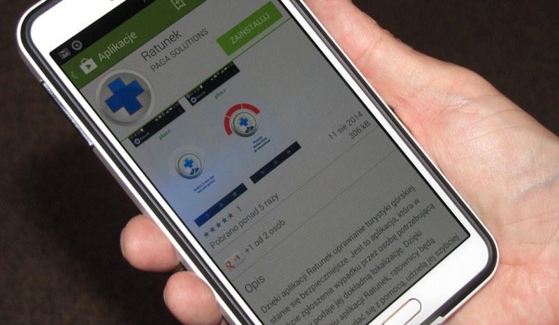 Aplikacja działa na systemach Android (od wersji 4.0) /Maciej Pałahicki /RMF FM