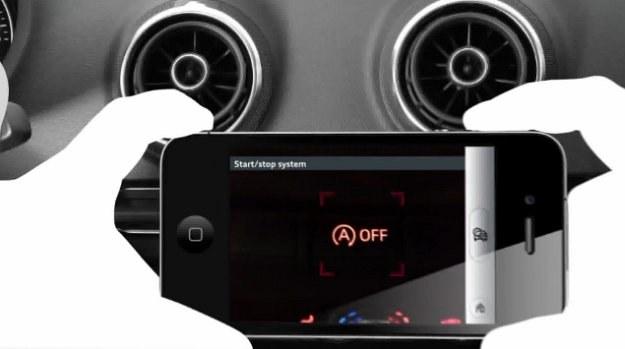 Aplikacja eKurzinfo Augmented w Audi A3 /Audi