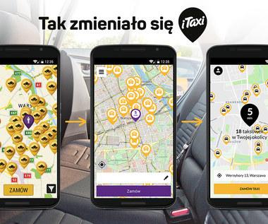 Aplikacja iTaxi w zupełnie nowej odsłonie