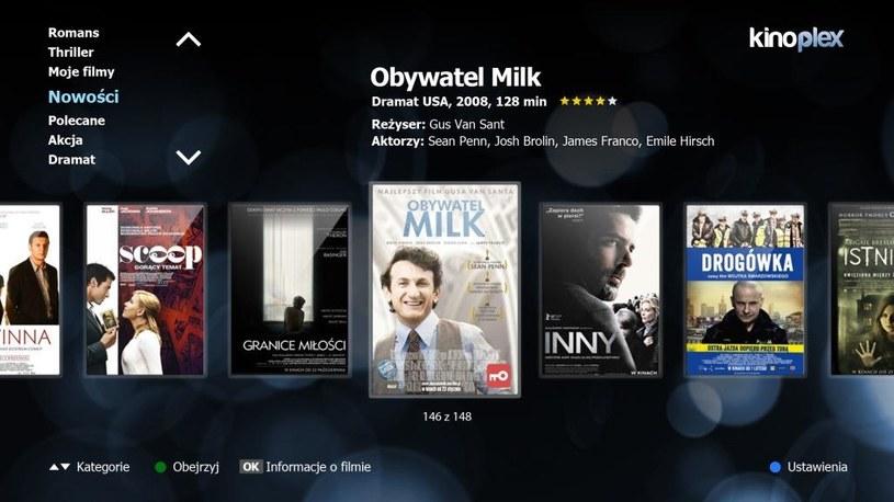 Aplikacja Kinoplex VOD /materiały prasowe