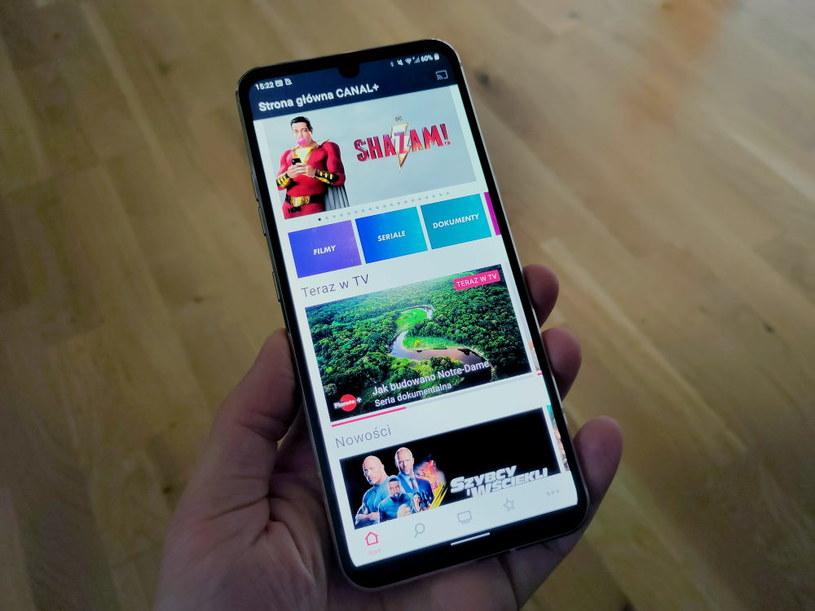 Aplikacja mobilna CANAL+ /INTERIA.PL