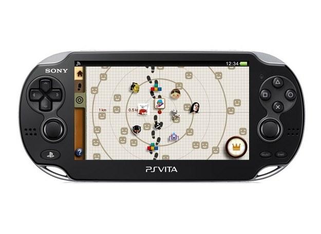 Aplikacja near wskaże najbliższych posiadaczy systemu PS Vita /materiały promocyjne