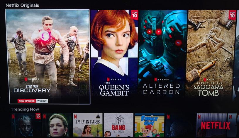 Aplikacja Netflix, QLED Q80T /INTERIA.PL