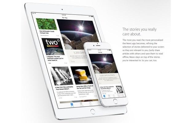 Aplikacja News /materiały prasowe