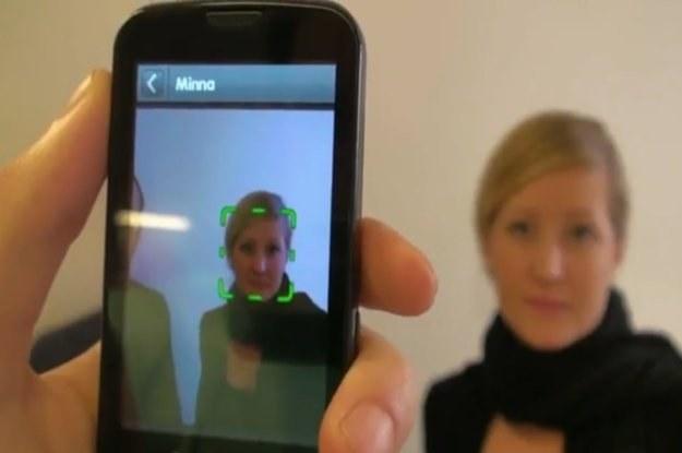 Aplikacja Recognizr działa (póki co) tylko w komórkach z systemem Android /materiały prasowe