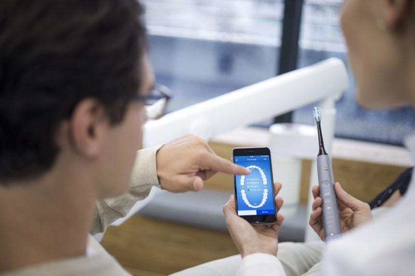 Aplikacja Sonicare jest swego rodzaju wirtualnym centrum zarządzania zdrowiem jamy ustnej /materiały prasowe