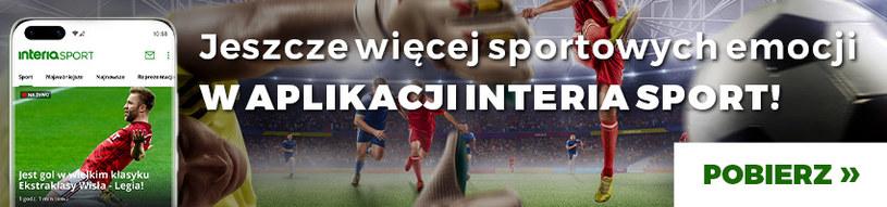 Aplikacja Sport Interia /interia /materiały promocyjne