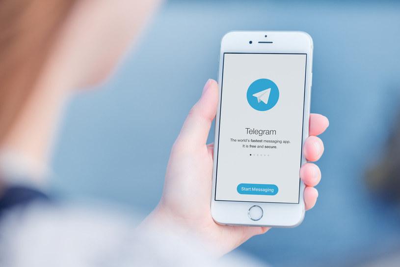 Aplikacja Telegram /123RF/PICSEL