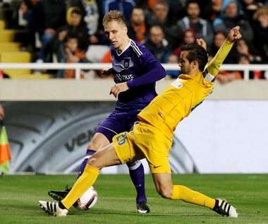 APOEL - Anderlecht 0-1 w 1/8 finału LE. Teodorczyk zagrał 59 minut