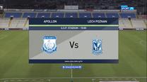 Apollon Limassol - Lech Poznań 0-5 - skrót (POLSAT SPORT). WIDEO