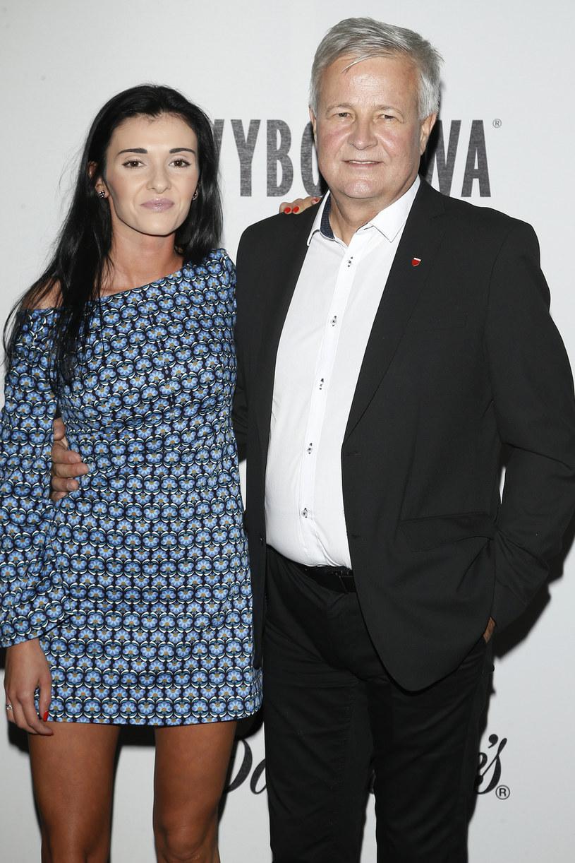 Apoloniusz Tajner z żoną, Izabelą /Podlewski /AKPA