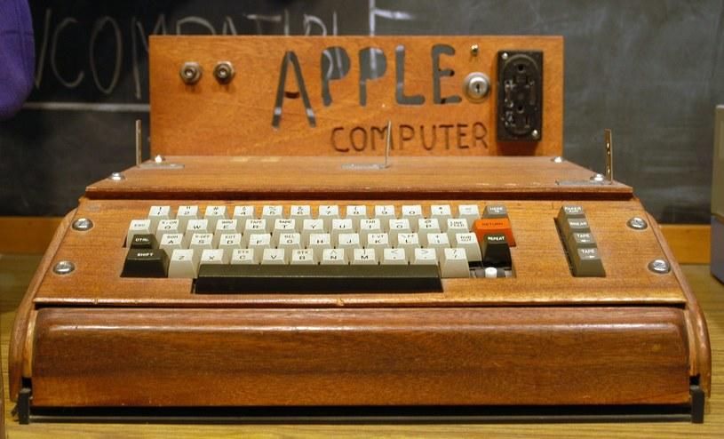 Apple I   Fot. Matthieu Riegler /Wikipedia