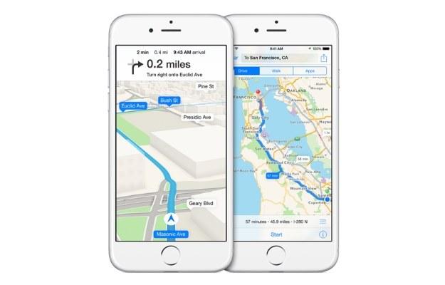 Apple inwestuje w nawigację /materiały prasowe
