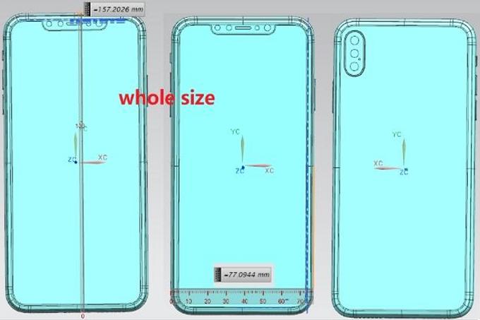 Apple iPhone schemat /Phonearena /materiał zewnętrzny