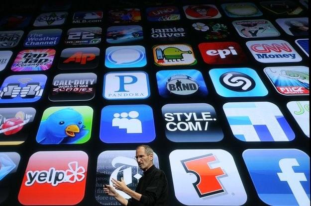Apple jest królem mobilnych aplikacji - nie ma drugiej firmy, która ma więcej komórkowych aplikacji /AFP