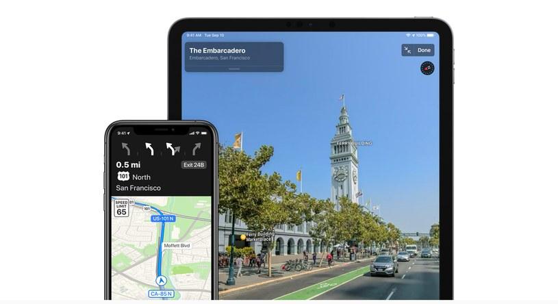 Apple Maps z nową funkcją /materiały prasowe