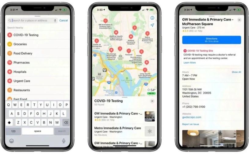 Apple Maps /materiały prasowe