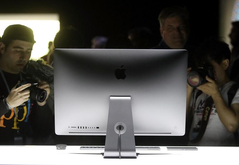 Apple może przeprojektować komputer iMac /AFP