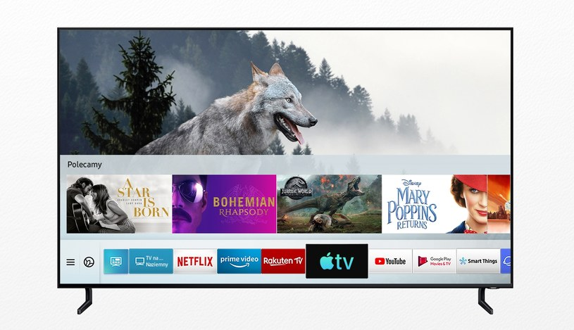 Apple Music w telewizorach Samsung /materiały prasowe