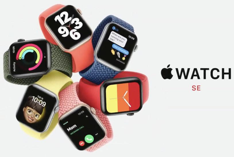 Apple Watch SE /materiały prasowe