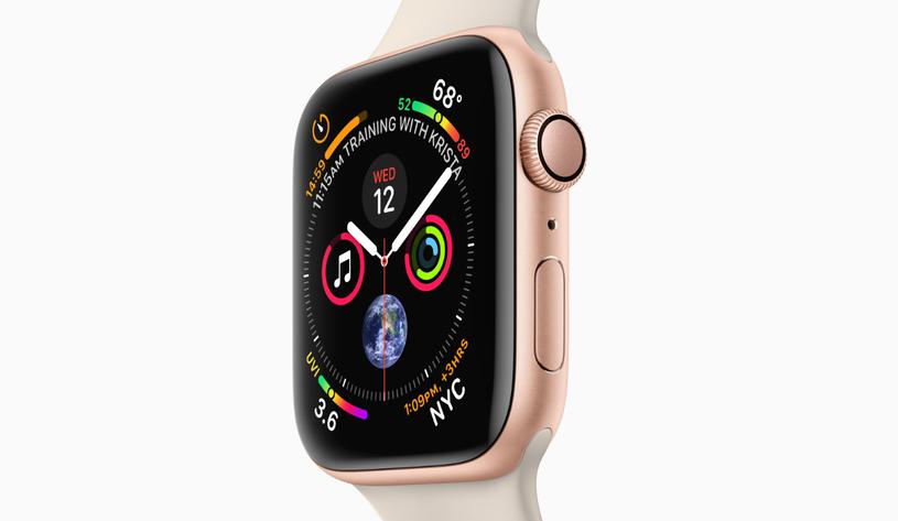 Apple Watch Series 4 /materiały prasowe