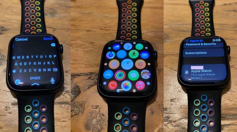 Apple Watch Series 7 Fot. MacRumors /materiał zewnętrzny