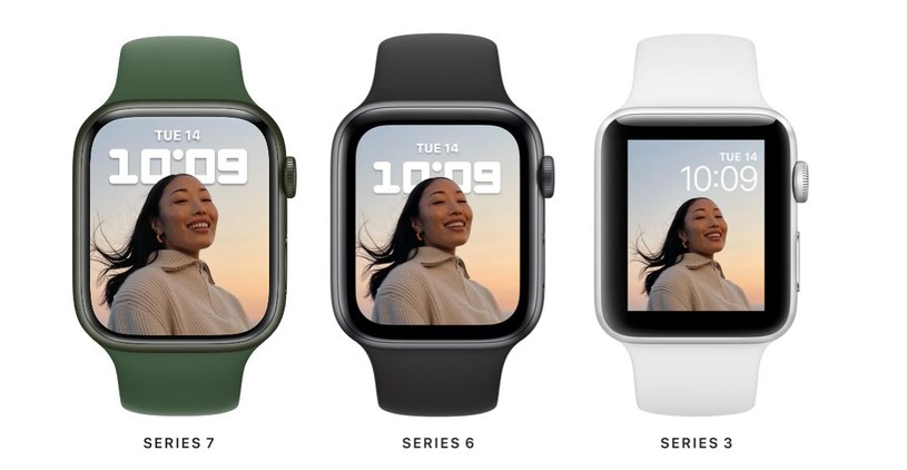 Apple Watch Series 7 /materiały prasowe