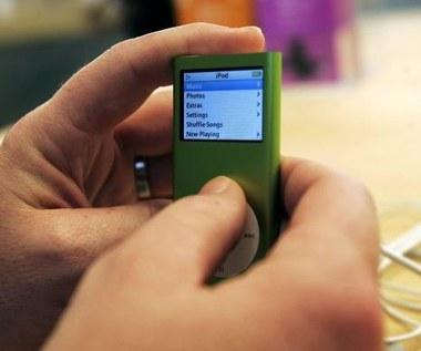 Apple wymienia iPoda nano