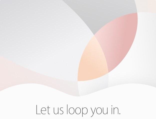 Apple zaprasza na konferencję prasową /materiały prasowe