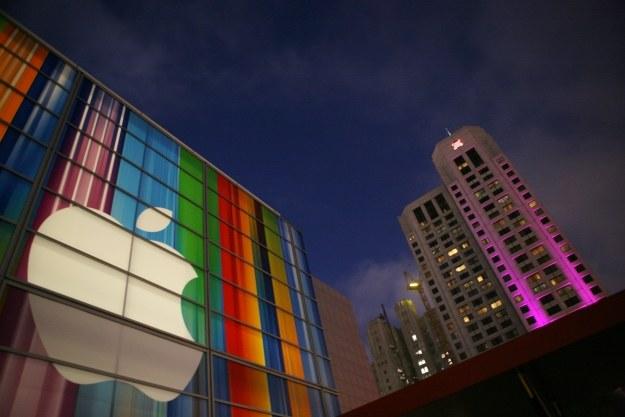 Apple znowu na miejscu pierwszym /AFP