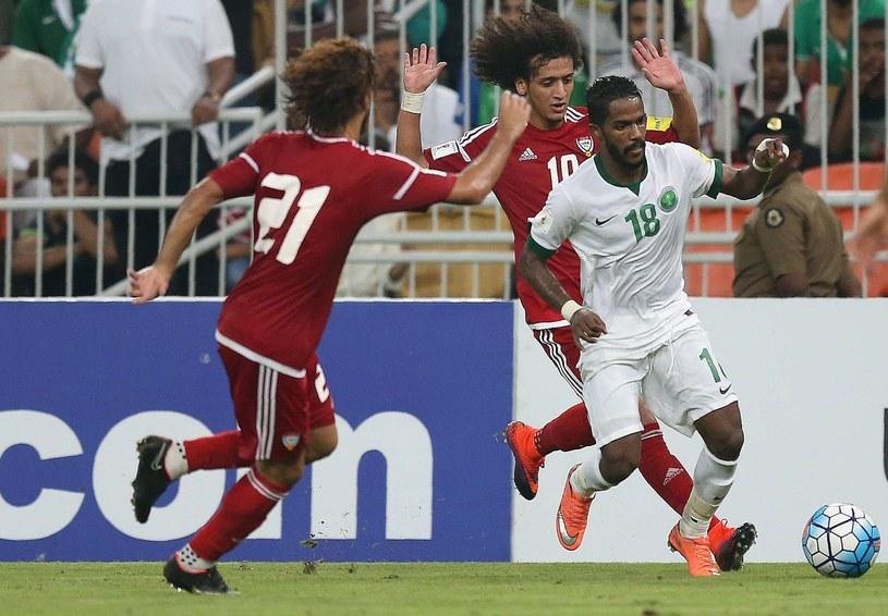 Arabia Saudyjska w meczu ze Zjednoczonymi Emiratami Arabskimi /AFP
