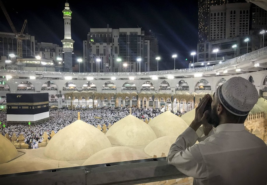 Arabia Saudyjska zezwoliła na modlitwy w Świętym Meczecie w Mekce /Abaca /PAP/Abaca