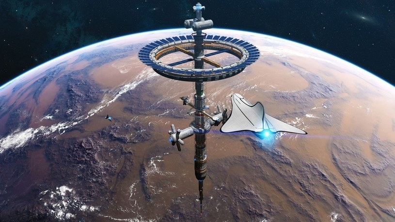 Arabowie i NASA wspólnie zbudują szpitale na orbicie i miasta na Marsie /Geekweek