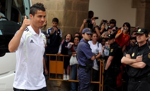 Arabscy bogacze z Manchesteru marzą o pozyskaniu Cristiano Ronaldo /AFP