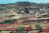 Aragonia: krajobraz z okolic Saragossy /Encyklopedia Internautica