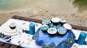 Aranżacja stołu weselnego: kolor niebieski jako motyw przewodni