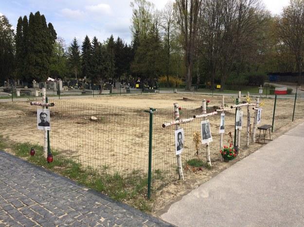 Archeolodzy IPN liczą, że podczas rozpoczynających się prac uda się odnależć szczątki 100 osób, /Mariusz PIekarski /RMF FM