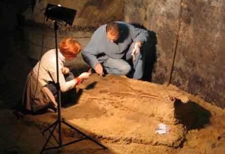 Archeolodzy kończą już prace wykopaliskowe /RMF