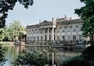 Architektura: klasycyzm, Łazienki, Pałac na Wodzie /Encyklopedia Internautica